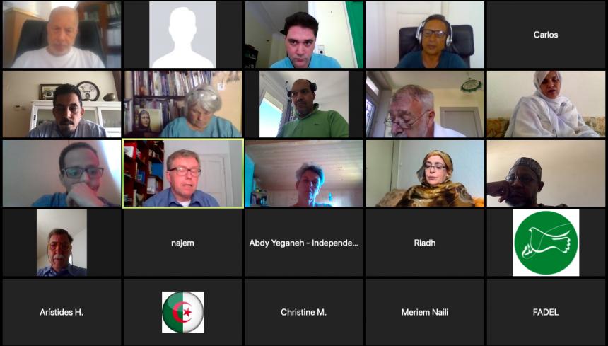 Symposium on Western Sahara: call for resumption of UN process– Sahara Press Service