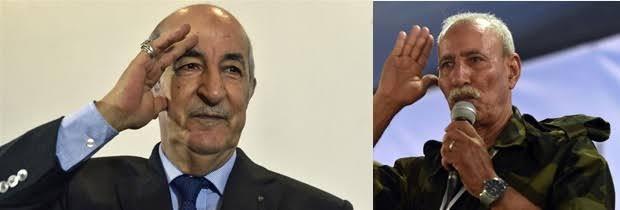 El presidente saharaui felicita a su homólogo de Argelia por el Día Nacional de la Independencia